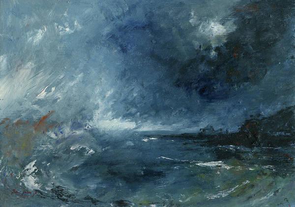 Wall Art - Painting - Seastorm by Juan Bosco
