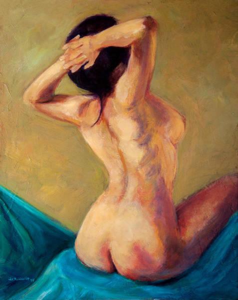 Painting - Seated Nude by Jason Reinhardt