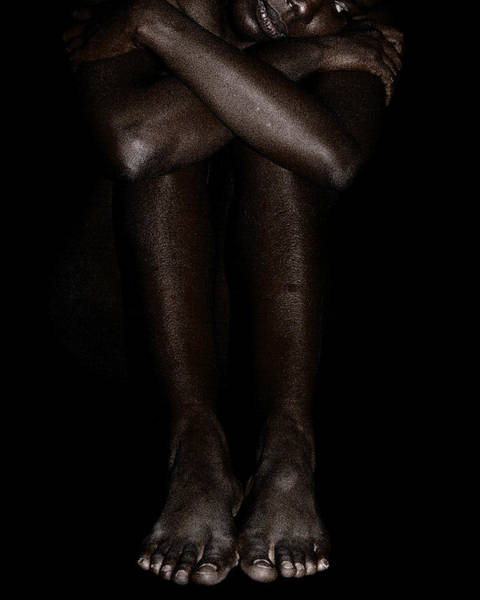 Photograph - Seated Woman 2 by David Kleinsasser