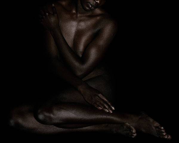 Photograph - Seated Woman 3 by David Kleinsasser