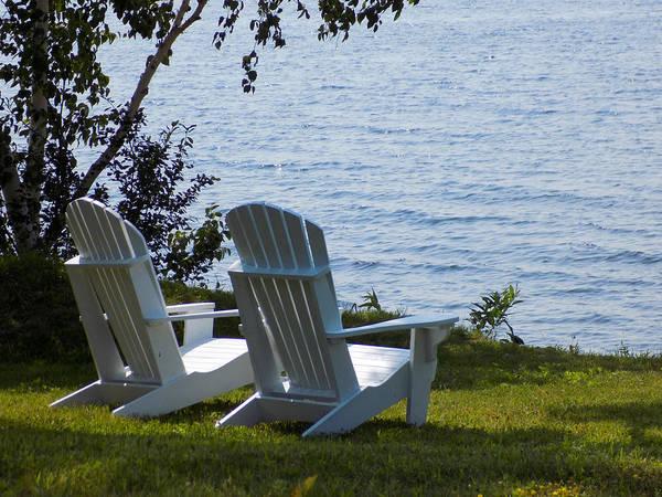 Madawaska Lake Photograph - Seats Of Worship by William Tasker