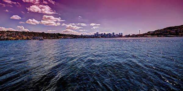 Photograph - Seattle And Lake Union by David Patterson