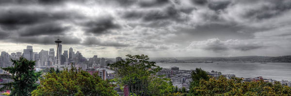 Photograph - Seattle Captured by David Patterson