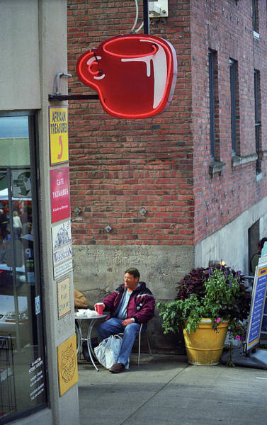 Photograph - Seattle Coffee Shop 2 by Frank Romeo