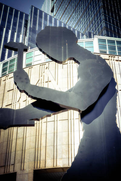 Wall Art - Photograph - Seattle Hammering Man by Spencer McDonald