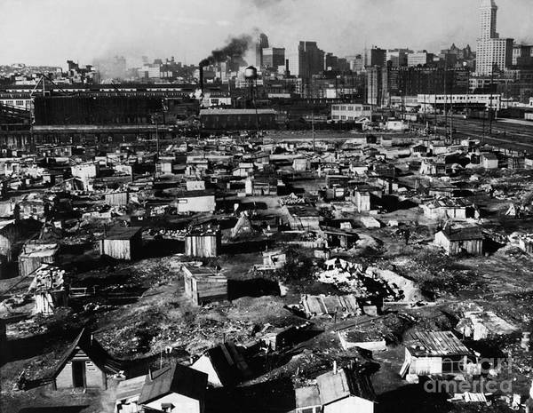 Photograph - Seattle: Hooverville, 1933 by Granger