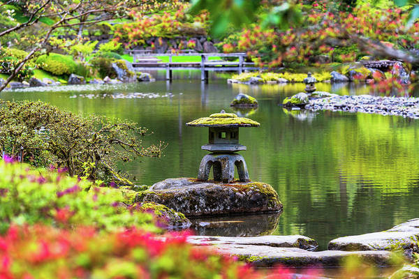 Seattle Japanese Garden Art Print