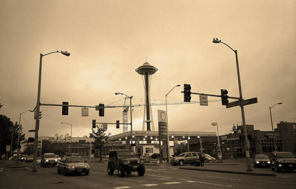Photograph - Seattle - North End Sepia by Frank Romeo