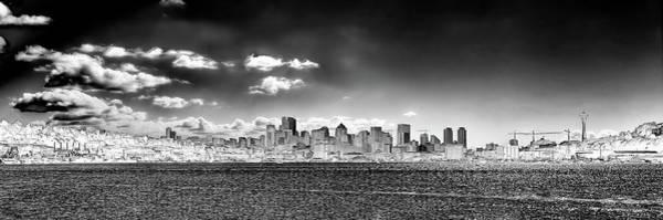 Photograph - Seattle Panorama 1 by David Patterson