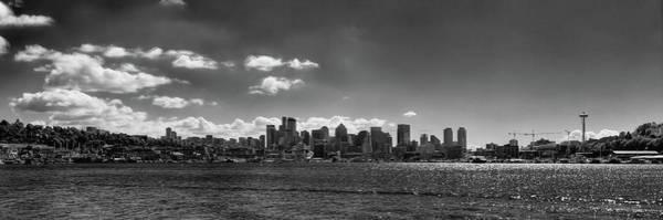 Photograph - Seattle Panorama 2 by David Patterson