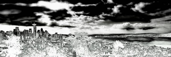 Photograph - Seattle Panorama by David Patterson