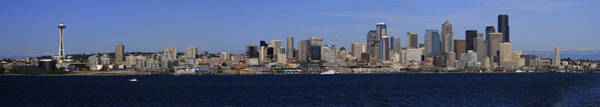 Photograph - Seattle Panoramic by Adam Romanowicz