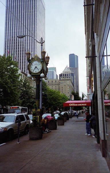 Photograph - Seattle Sidewalk by Frank Romeo