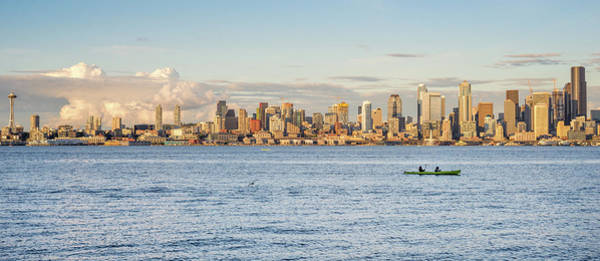 Photograph - Seattle Skyline 2 by Lindy Grasser