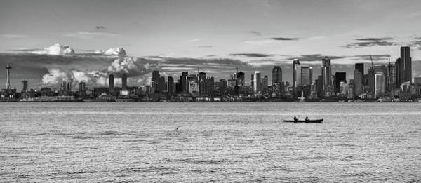 Photograph - Seattle Skyline 3 by Lindy Grasser