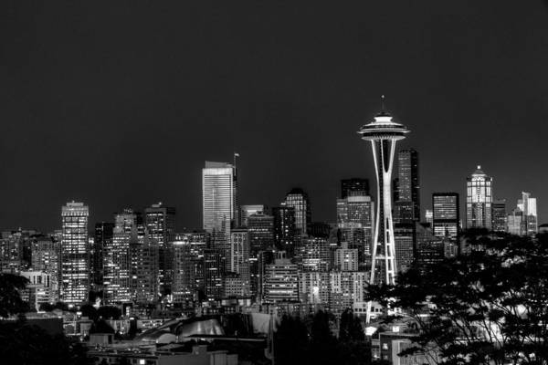 Photograph - Seattle Skyline by Dillon Kalkhurst