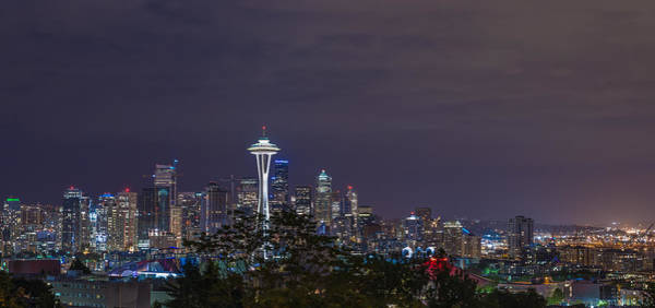 Wall Art - Photograph - Seattle Skyline by Drew Castelhano
