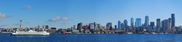Seattle Photograph - Seattle Skyline Panorama by Twenty Two North Photography