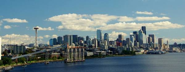 Photograph - Seattle Skyline by Phyllis Spoor