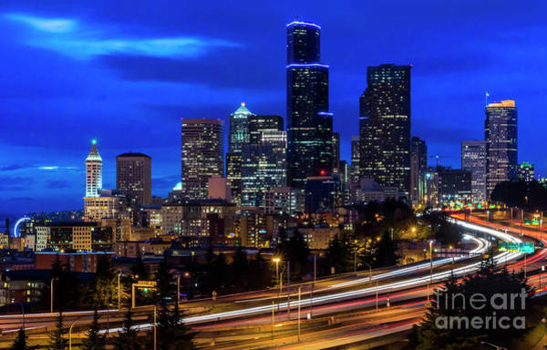 Photograph - Seattle Skyline by Sal Ahmed