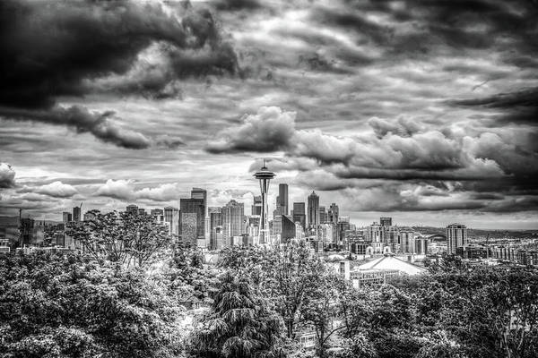 Wall Art - Photograph - Seattle Skyline by Spencer McDonald