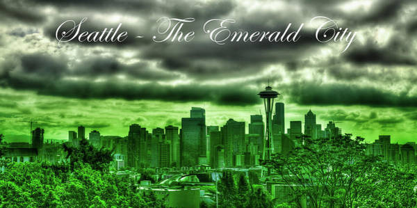 Photograph - Seattle - The Emerald City 2 by David Patterson