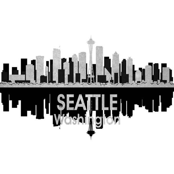 Digital Art - Seattle Wa 4 Squared by Angelina Tamez