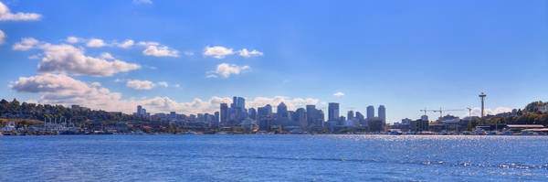 Photograph - Seattle Washington From Gasworks Park by David Patterson