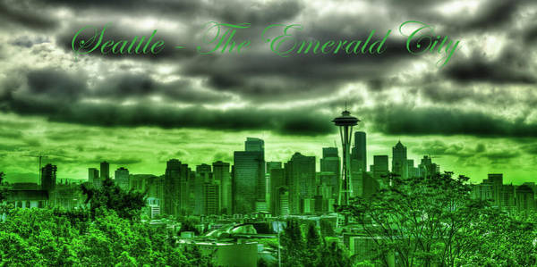 Photograph - Seattle Washington - The Emerald City by David Patterson