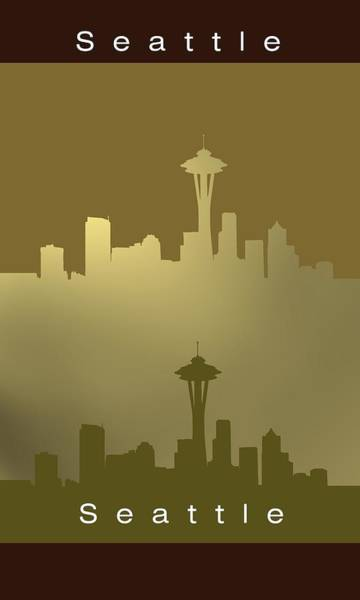 Digital Art - Seattle.1 by Alberto RuiZ