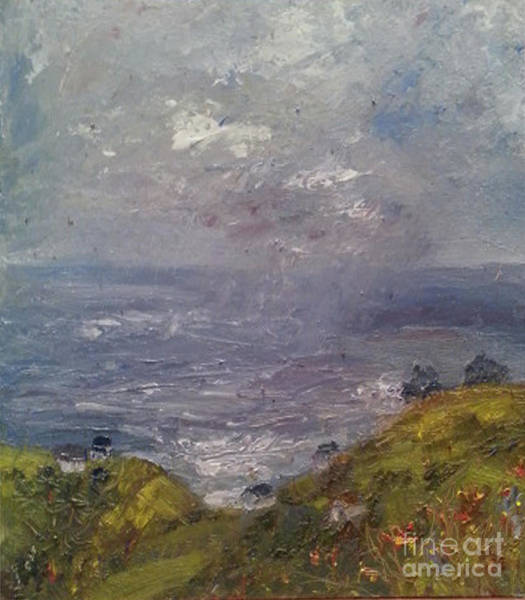 Painting - Seaview by Genevieve Brown