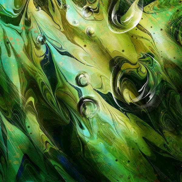 Seaweed Digital Art - Seaweed by Rachel Christine Nowicki