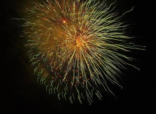 Photograph - Seaworld Fireworks 1 by Phyllis Spoor