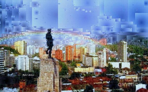 Digital Art - Sebastian De Belalcazar by Rafael Salazar