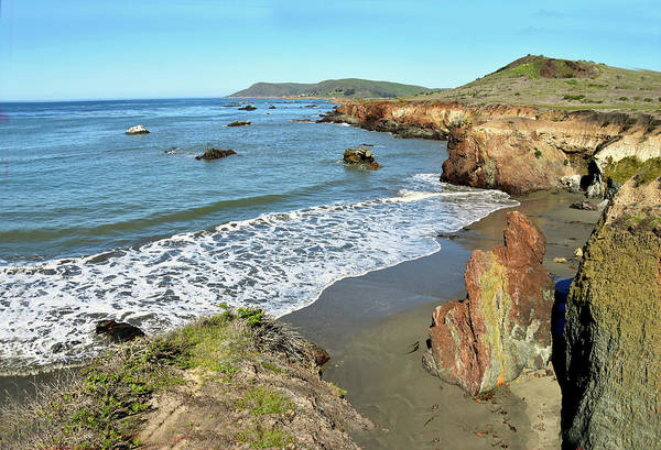 Photograph - Secluded Beach Big Sur California by Floyd Snyder