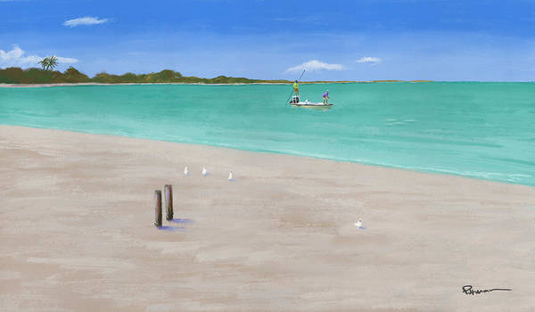 Bahamas Digital Art - Secluded  by Kevin Putman