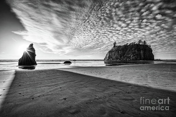 Wall Art - Photograph - Second Beach Light And Shadow by Jamie Pham