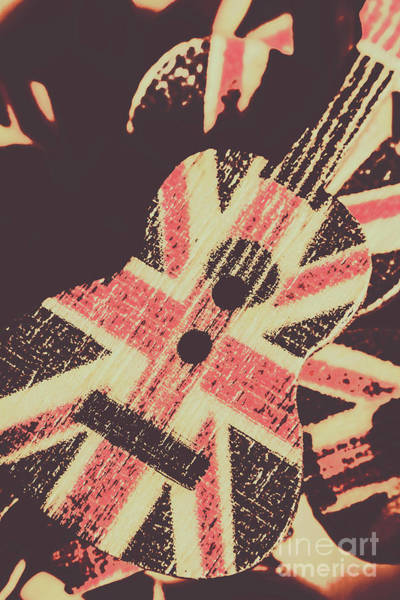 Grunge Music Wall Art - Photograph - Second British Invasion by Jorgo Photography - Wall Art Gallery
