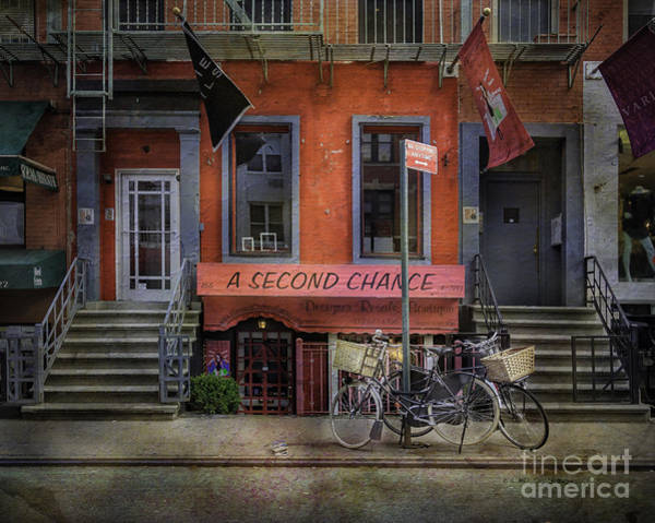 Photograph - Second Chance Bicycles by Craig J Satterlee