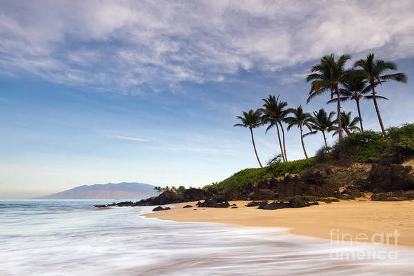 Secret Beach Maui Sunrise Art Print