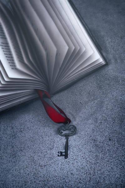 Wall Art - Pyrography - Secret Book by Joana Kruse