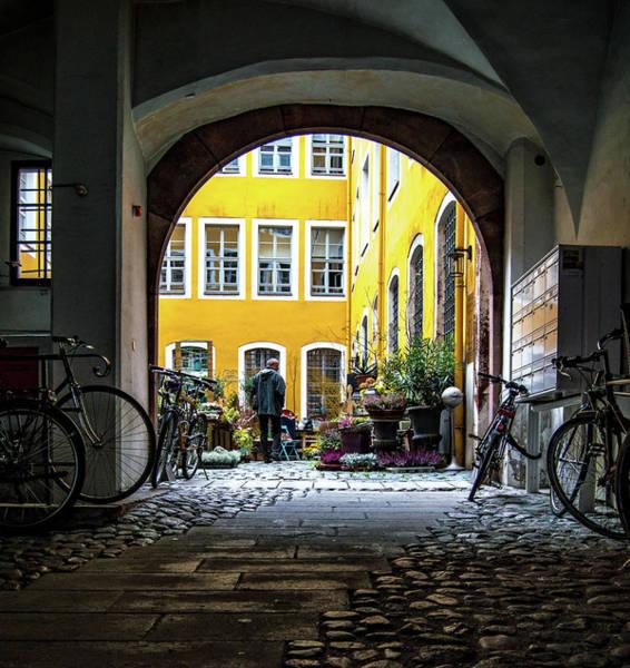 Wall Art - Photograph - Secret Courtyard by Kyle Goetsch