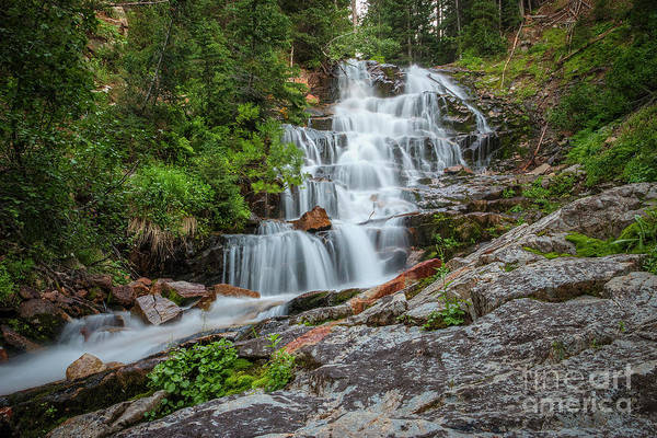 Photograph - Secret Falls by Spencer Baugh