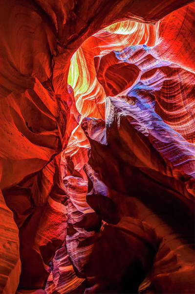 Northern Arizona Wall Art - Photograph - Secret Layer - Antelope Canyon by Gregory Ballos