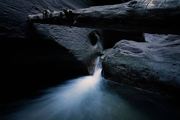 Breath Photograph - Secret Stream by Edgars Erglis