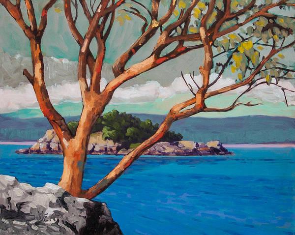 Painting - Secretary Island by Rob Owen