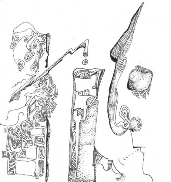 Drawing - Secrets Of The Engineers by Regina Valluzzi