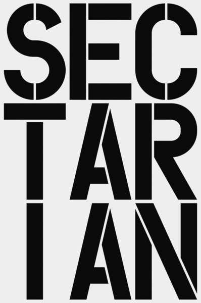 Wall Art - Painting - Sectarian by Three Dots