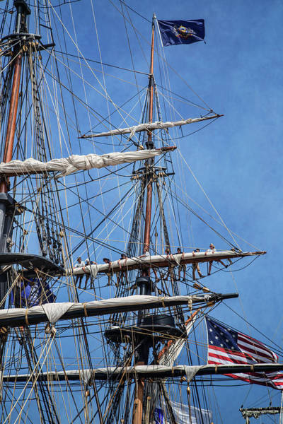 Wall Art - Photograph - Securing The Sail by Dale Kincaid