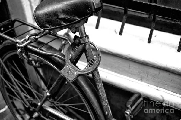 Photograph - Security Details Mono by John Rizzuto